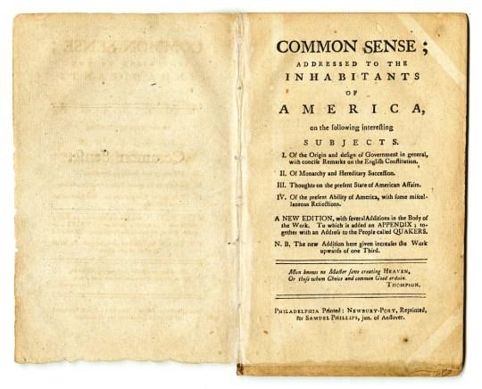 Thomas Pane- Common Sense, Τόμας Πέϊν- Κοινή λογική, ΤΟ BLOG ΤΟΥ ΝΙΚΟΥ ΜΟΥΡΑΤΙΔΗ, nikosonline.gr