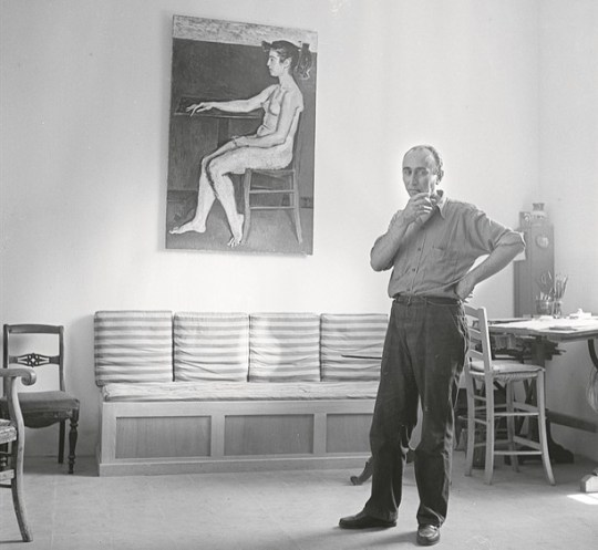 Γιάννης Μόραλης, ζωγράφος, Yiannis Moralis, εικαστικά, ο γίγαντας της Ελληνικής ζωγραφικής, zografos, nikosonline.gr