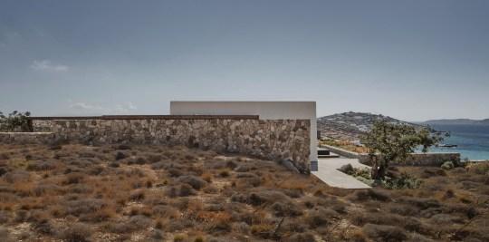 Βίλα Mandra, Μύκονος, k.Studio, Villa Mandra, Mykonos island, Greece, αρχιτεκτονική, nikosonline.gr