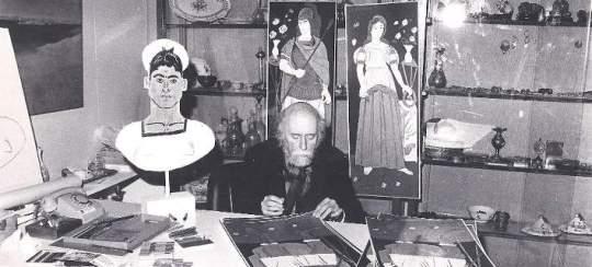Giannis Tsarouxis, Γιάννης Τσαρούχης, ζωγράφος, εικαστικά, nikosonline.gr