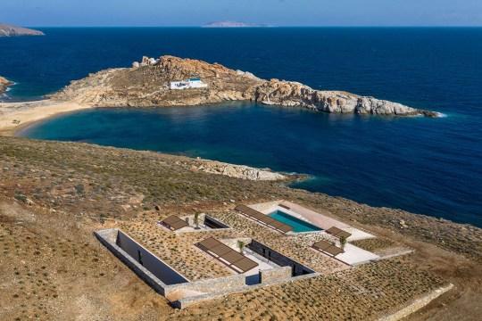 Συγκλονιστικό σπίτι στην Σέριφο, nCaved, Mold Architects, Serifos island, Greece, καλοκαιρινό σπίτι, νησί, Σέριφος, nikosonline.gr