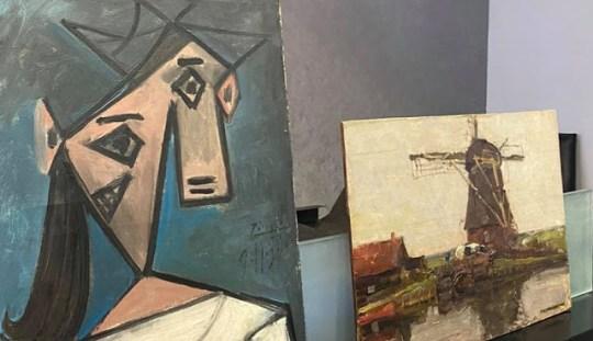 Οι κλεμμένοι πίνακες, Πικάσο, Μόντριαν, Εθνική πινακοθήκη, Picasso, Mondrian, Greek National Gallery, stolen art works, nikosonline.gr