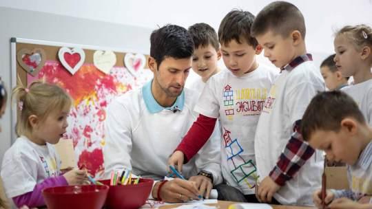 Νόβακ Τζόκοβιτς, Έτοιμο το πρώτο νηπιαγωγείο, Novak Djokovic, Ίδρυμα, Σερβία, Παιδιά, Novak Djokovic Foundation (NDF), nikosonline.gr