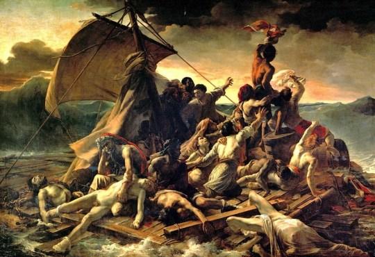 Η ταυτότητα της ημέρας, Théodore Géricault - Le Radeau de la Méduse, Τεοντόρ Ζερικώ, ΤΟ BLOG ΤΟΥ ΝΙΚΟΥ ΜΟΥΡΑΤΙΔΗ, nikosonline.gr