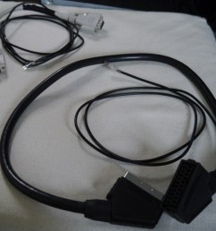the ldr placed in a plastic case vga scart extension cables with probe wires  [ 1024 x 880 Pixel ]