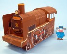 Papercraft imprimible y armable del tren Mansei. Manualidades a Raudales.