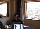 Heinz im Seouler Büro