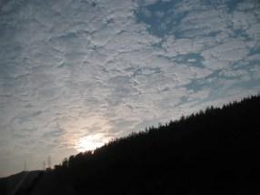 der Autobahn-Himmel