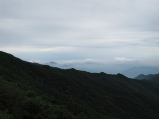 Die Jirisan (Wolken-)Berge