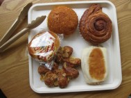 was wir immer so frühstücken