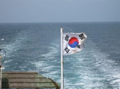 durch die koreanische Südsee