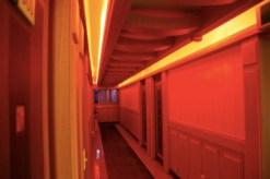 cooler Schuppen, das Polaris Motel