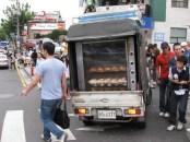 Zurück in Seoul: Essen auf Rädern