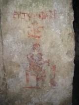 St. Paul's Catacombs: Grabbeschriftung