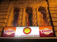 der Dorfheilige heißt Kinnie