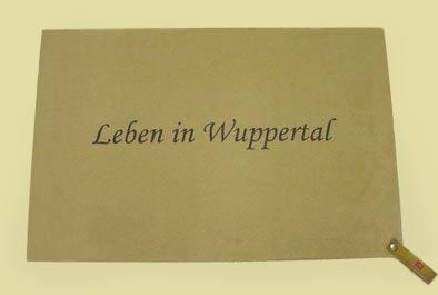"""Dreckstückchen """"Leben in Wuppertal"""""""