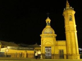 Sevilla bei Nacht