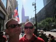 Wir sind wirklich da, und das Empire State Building auch!