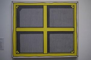 Roy Lichtenstein malt lieber von hinten