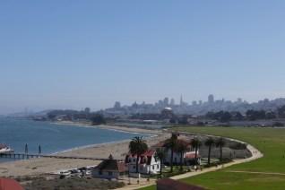 San Francisco vom Presidio aus