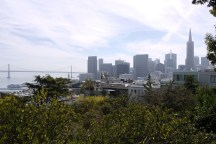 Blick vom Coit Tower, Telegraph Hill