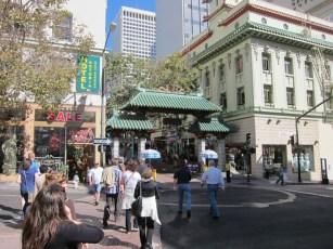 der Eingang nach China Town