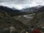 Das Tal des Río de las Vueltas