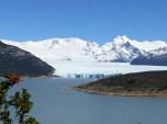 Anfahrt zum Perito Moreno Gletscher