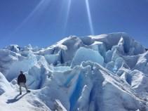 Auf dem Perito Moreno Gletscher