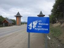Ein großes Thema - die Falklandinseln gehören eigentlich zu Argentinien...
