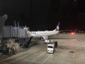 ... und der letzte Flieger, der uns nach Denver bringt