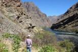 Hike am Snake River im Hells Canyoun