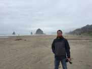 Am Haystack Rock, Cannon Beach