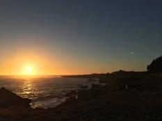 Sonnenuntergang an der South Gerstle Cove