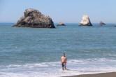 Carsten im Wasser