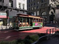 Cable Car am Union Square