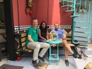 Kaffeepause in der Comuna 13