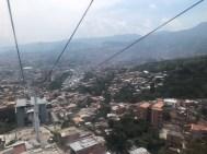 Metrocable von San Javier nach La Aurora
