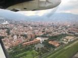 Über Medellin...