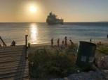 Sonnenuntergang in Boca Sami
