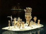 im Museo del Oro: Balsa Muisca