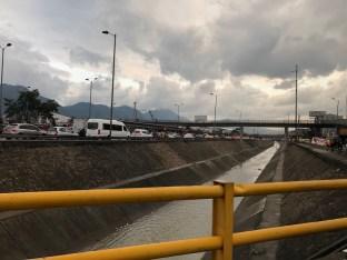 Stau in Bogotá