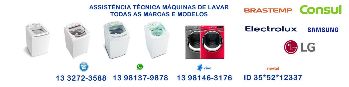 assistência técnica máquina de lavar baixada santista