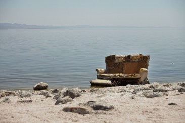 The Salton Sea - Desert Shores, California