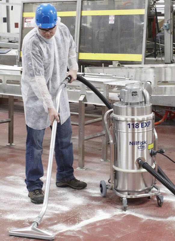 Food  Beverage  Nilfisk Industrial Vacuums