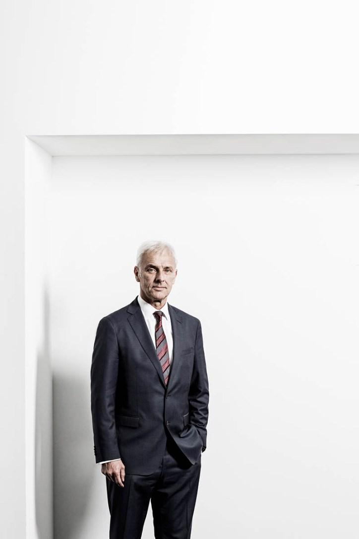 Corporate Highlights 2015/2016 // Matthias Müller, CEO Volkswagen AG / Medium: Wirtschaftswoche / Wolfsburg 2015 / Foto: Nils Hendrik Mueller