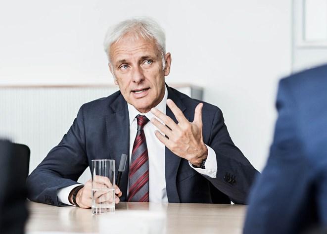Volkswagen AG / Matthias Müller, Vorstandsvorsitzender / Medium: Handelsblatt / Wolfsburg 2016 / Fotograf: Nils Hendrik Mueller