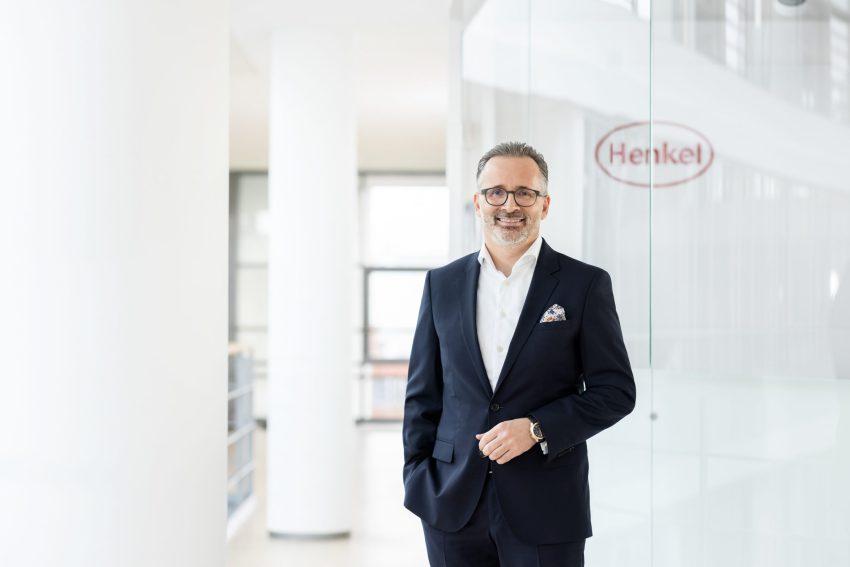 Carsten Knobel, Vorstandsvorsitzender / Henkel AG / Geschäftsbericht 2020 / Düsseldorf 2021 / Fotograf: Nils Hendrik Mueller