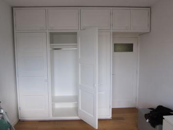 Slaapkamerkast oude deuren  kastenwanden  Nils Verweij