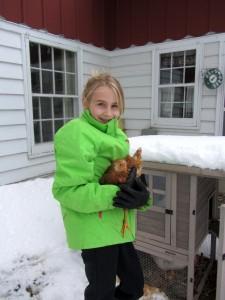 sophia and chicken blog